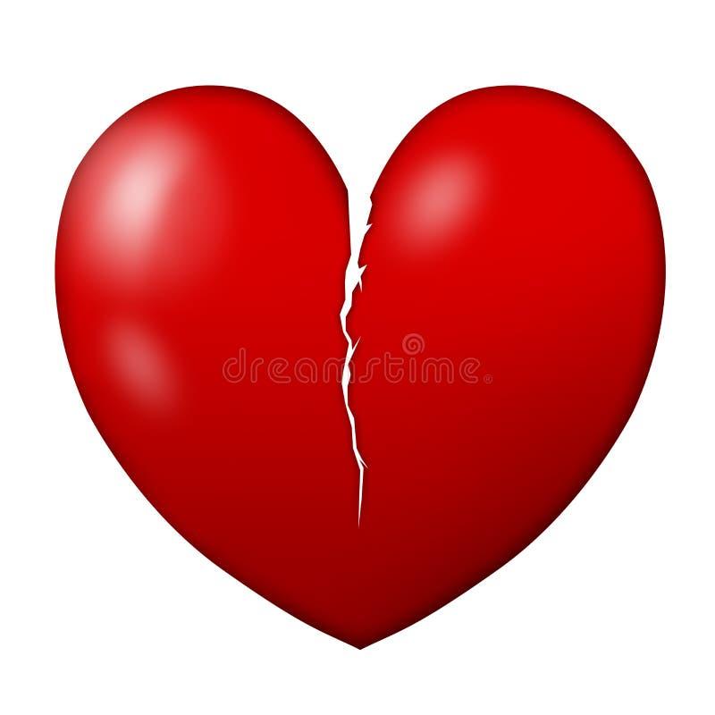 Download Broken heart stock illustration. Illustration of body - 25257824