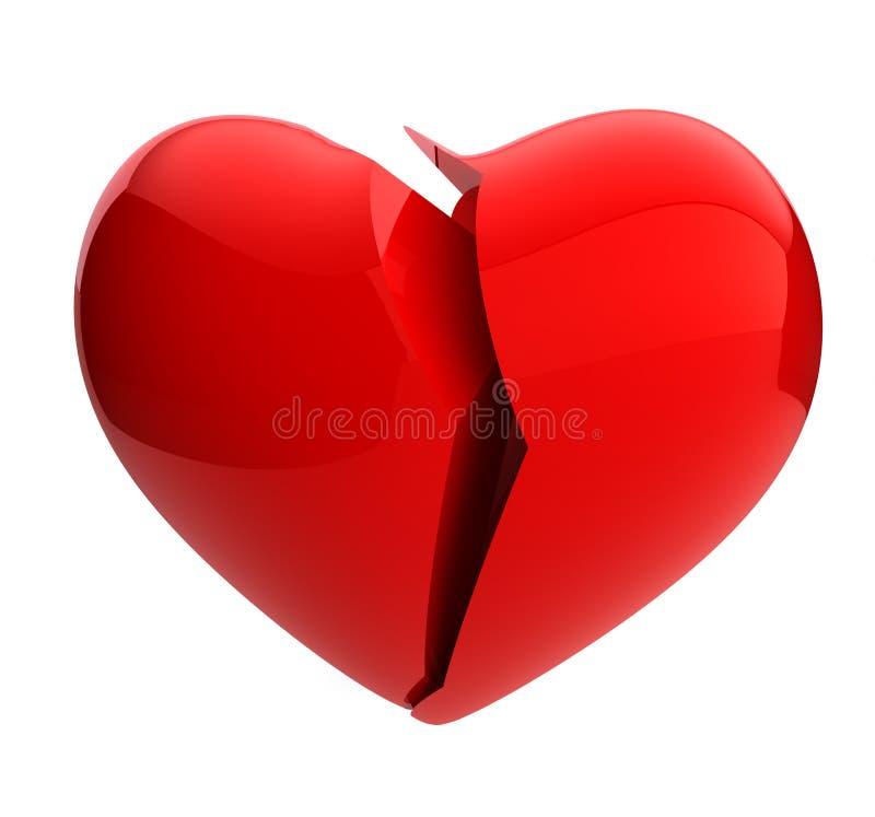 Broken Heart Royalty Free Stock Image