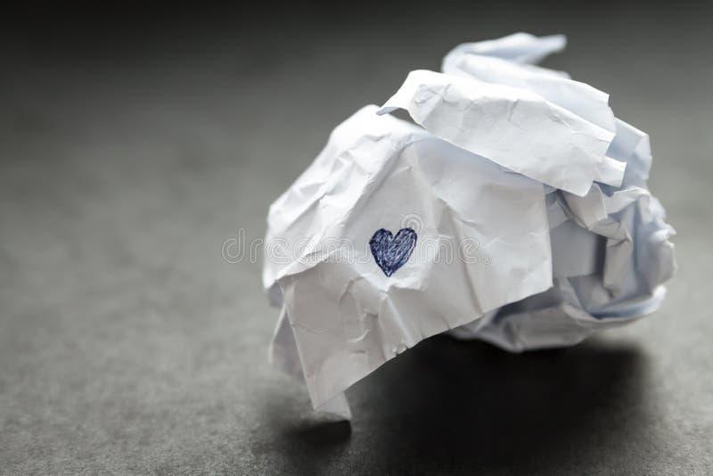Broken heart. royalty free stock photos