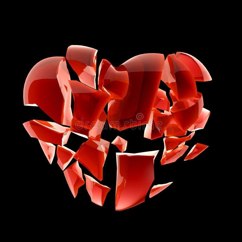 Free Broken Heart Royalty Free Stock Photography - 31167477