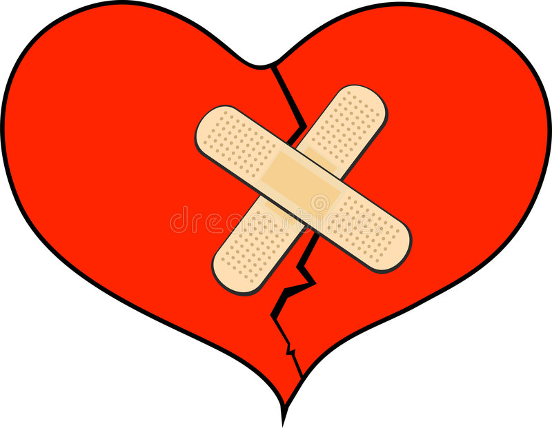 Broken Heart Bandage Stock Illustrations – 403 Broken Heart ...