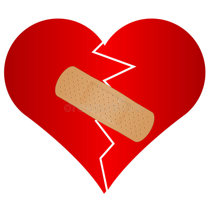 broken heart with plaster stock vector illustration of bandage clipart bandaid clipart white and black