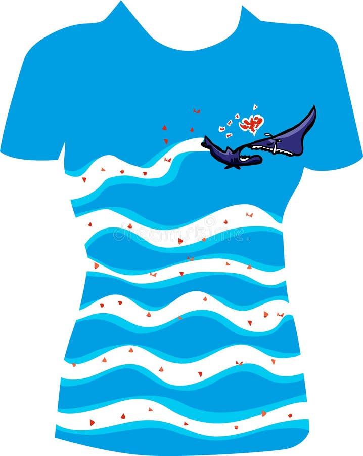 Download Broken Heart T-shirt Design Stock Vector - Illustration of shirt, floral: 107929550