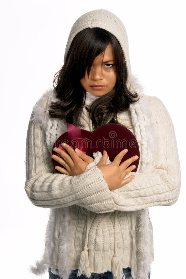 Broken Heart Valentine royalty free stock images