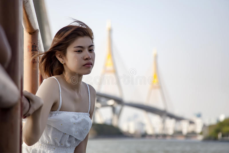Broken heart woman crying and tears coming from her eyes., suffering from relationship and love problem., after a fight with royalty free stock images