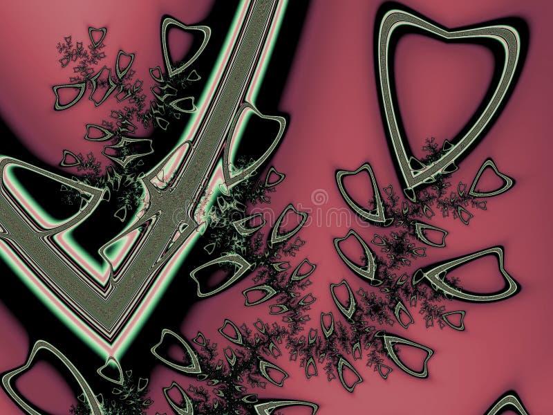 Broken hearts vector illustration