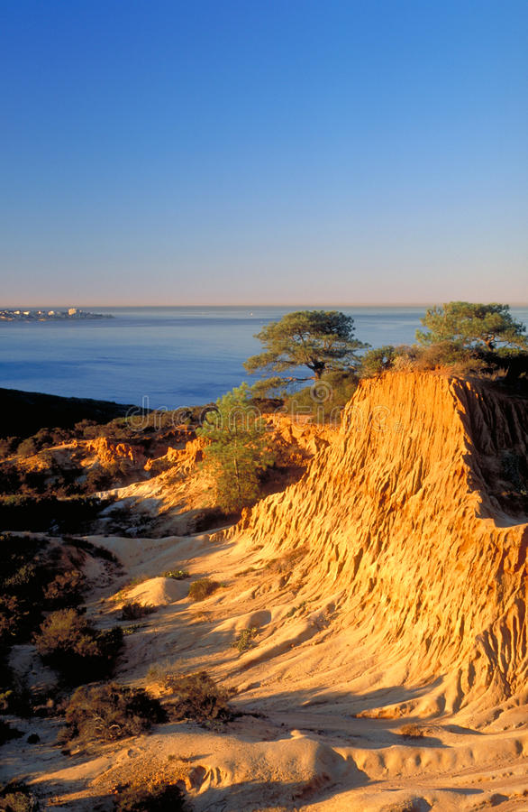 Broken Hill at Sunrise, Vertical Cover Shot royalty free stock images