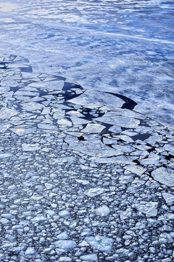 Download Broken ice stock image. Image of glowing, blue, breaking - 27666187
