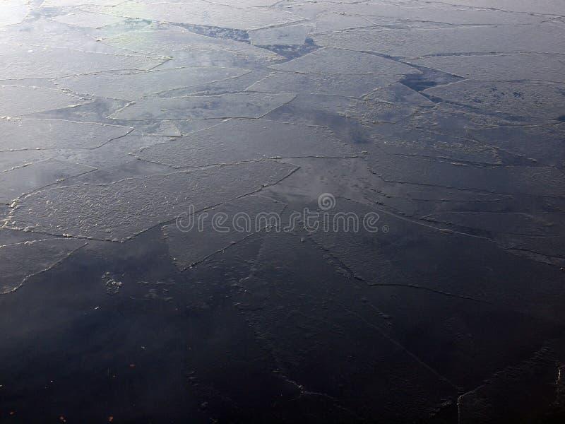 Broken ice royalty free stock photo
