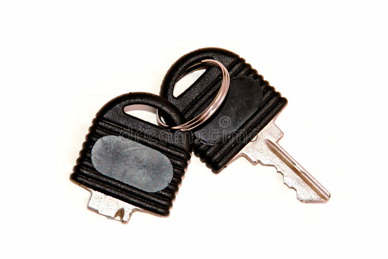 Broken key isolated royalty free stock images