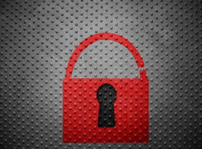 broken lås arkivfoto