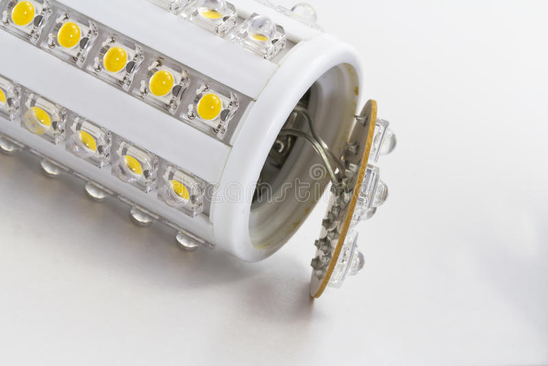 Broken LED bulb with E27