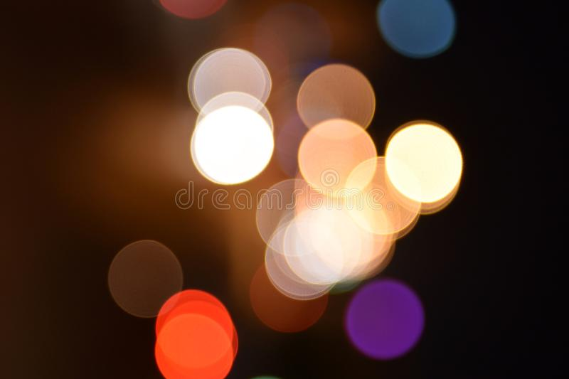 Broken light blur. stock images