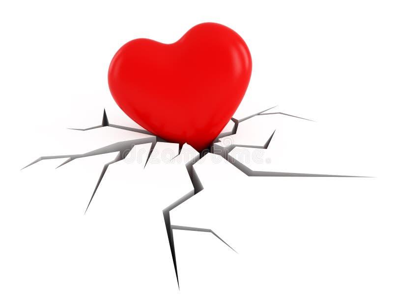 Download Broken love stock illustration. Illustration of love - 22675255