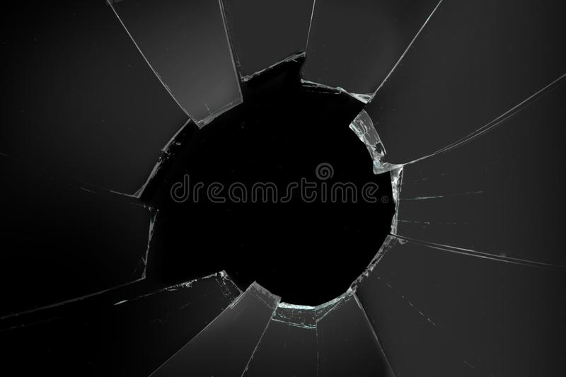 Broken mirror background royalty free stock images
