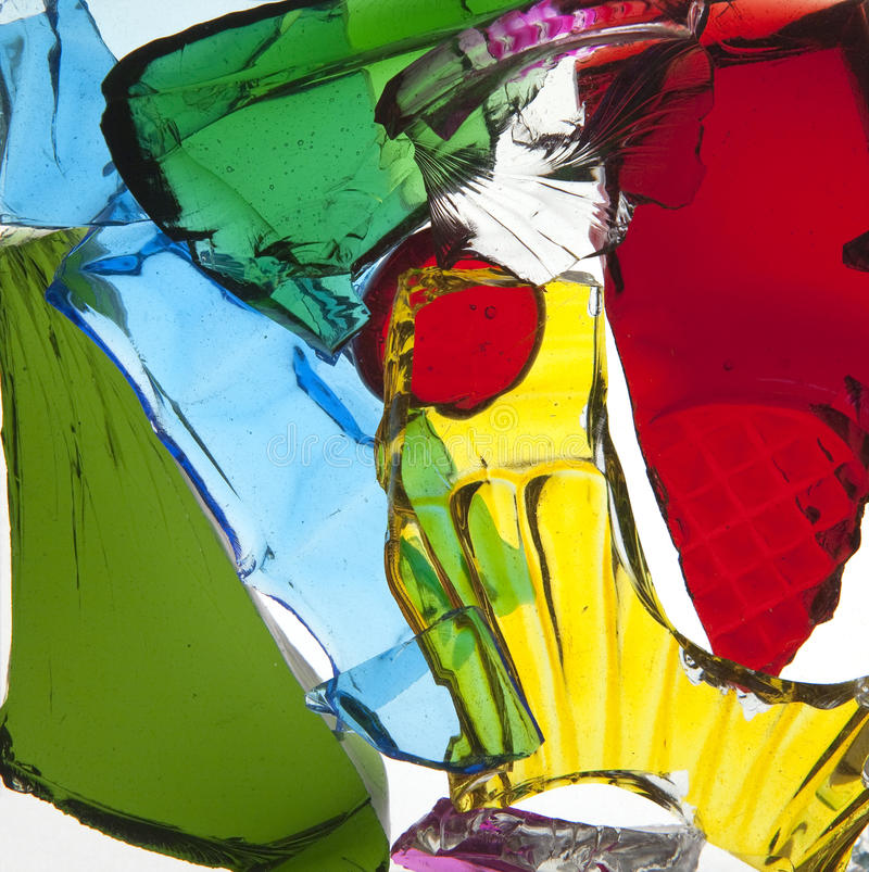 Download Broken Pieces Of Colored Glass Stock Photo - Image: 14690030