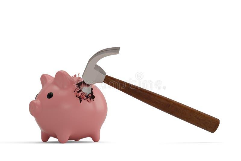 Broken Piggy Bank Stock Illustrations – 754 Broken Piggy Bank ...