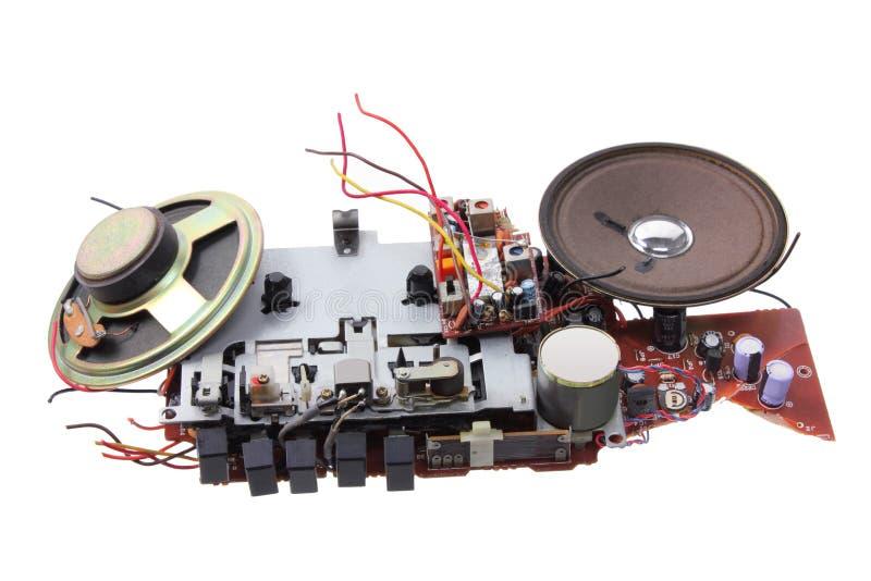 Download Broken Radio Cassette Player Stock Illustration - Image: 24675492