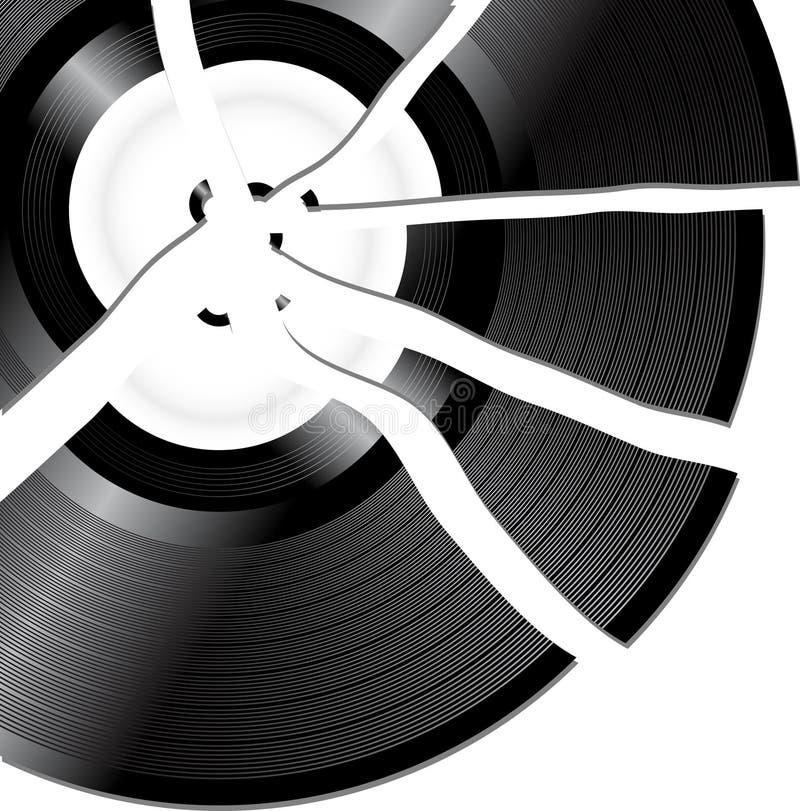 Free Broken Record Royalty Free Stock Image - 20242816