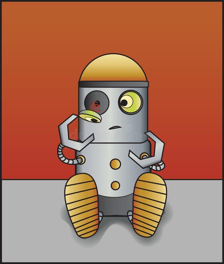 Download Broken Robot stock vector. Illustration of mechanics - 22822039