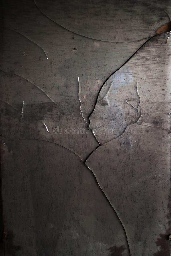 Broken shattered mirror stock images