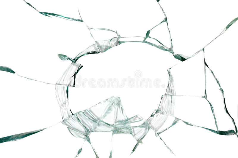 Broken silicate glass background. Broken silicate glass abstract background royalty free stock photos