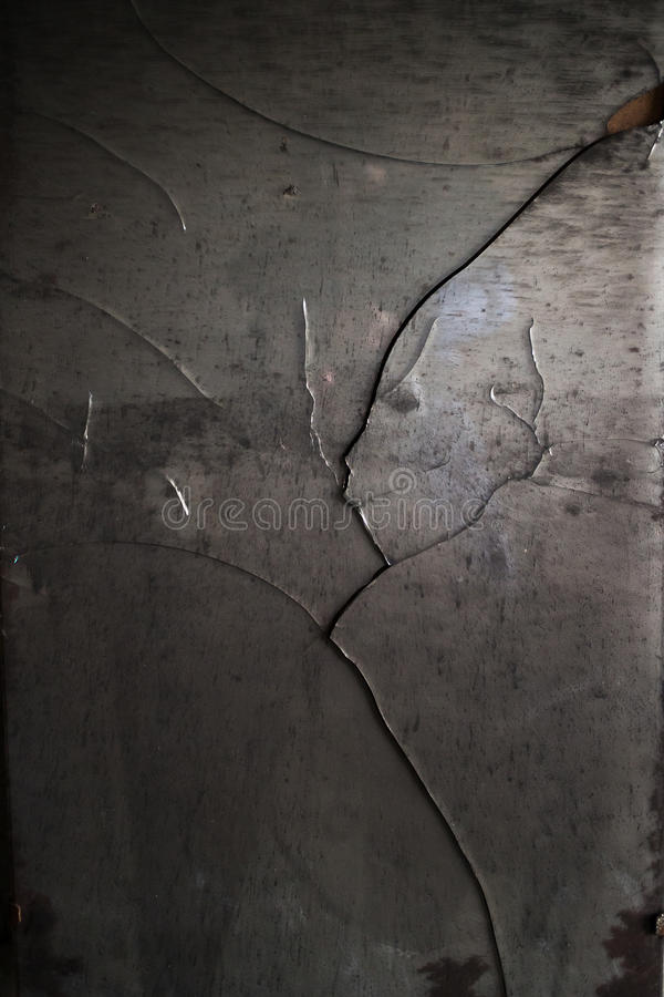 Broken splittrad spegel arkivbilder