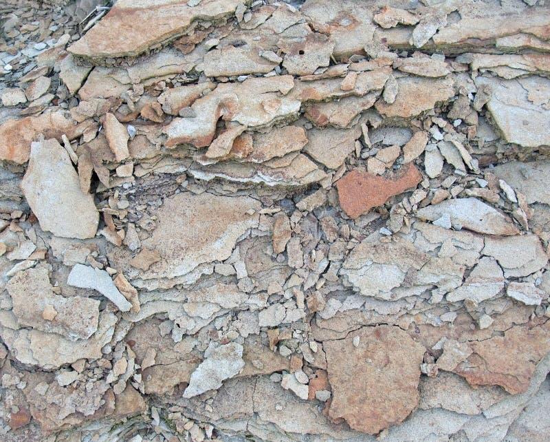 Broken stone back royalty free stock photos