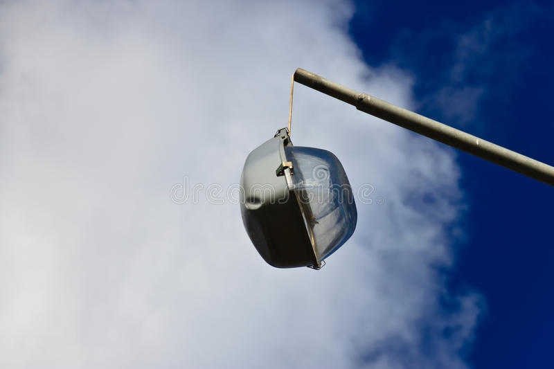 Download A broken street light stock photo. Image of lamp, close - 26650300