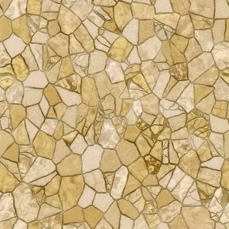 broken tegelplattor royaltyfri illustrationer