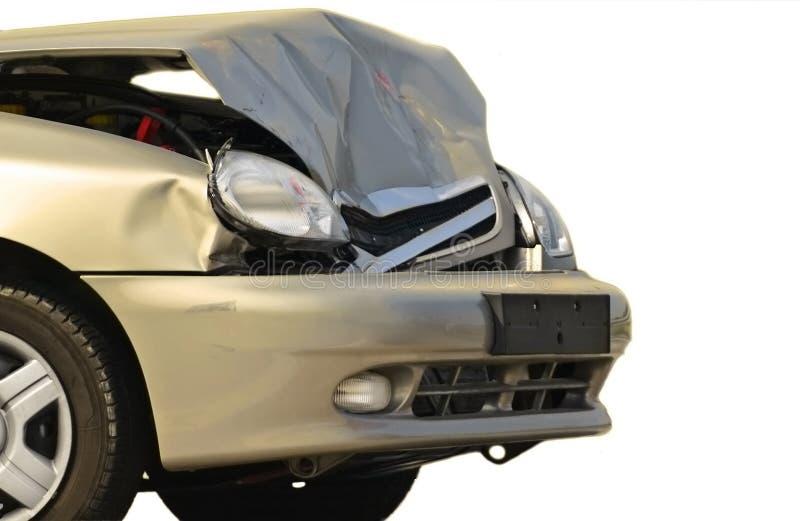 Download Crashed car stock image. Image of bonnet, damaged, closeup - 11635029