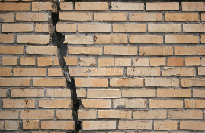 Download Broken wall stock photo. Image of backgrounds, demolished - 1708732
