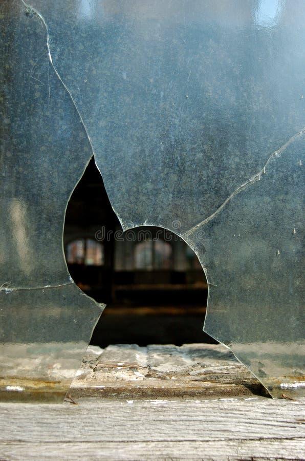 Free Broken Window Royalty Free Stock Photos - 16355698