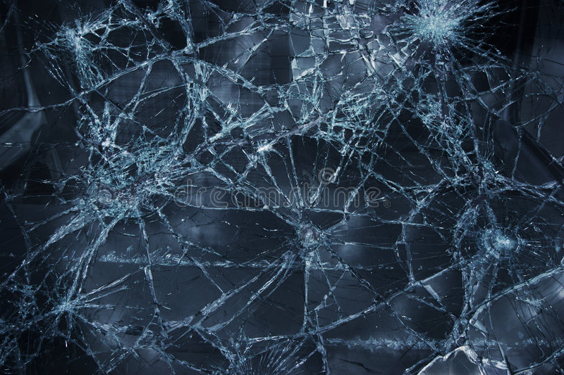 Download Broken window stock image. Image of smashed, cracked, ruined - 2260269
