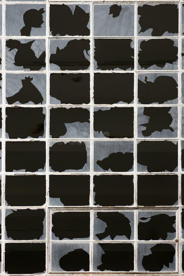 Free Broken Window Stock Photography - 880922