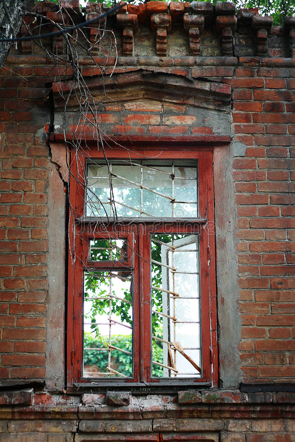 Download Broken Window stock image. Image of cracked, dirty, architecture - 33236163