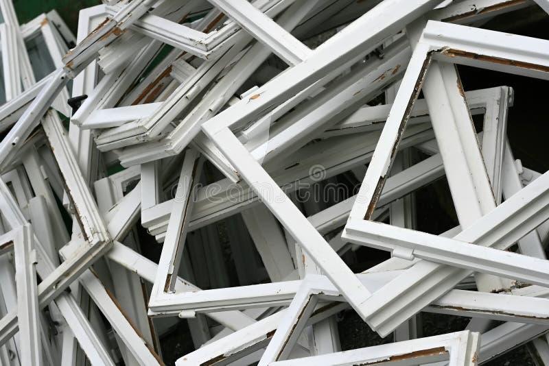 Download Broken window frame stock photo. Image of fallen, texture - 15292830