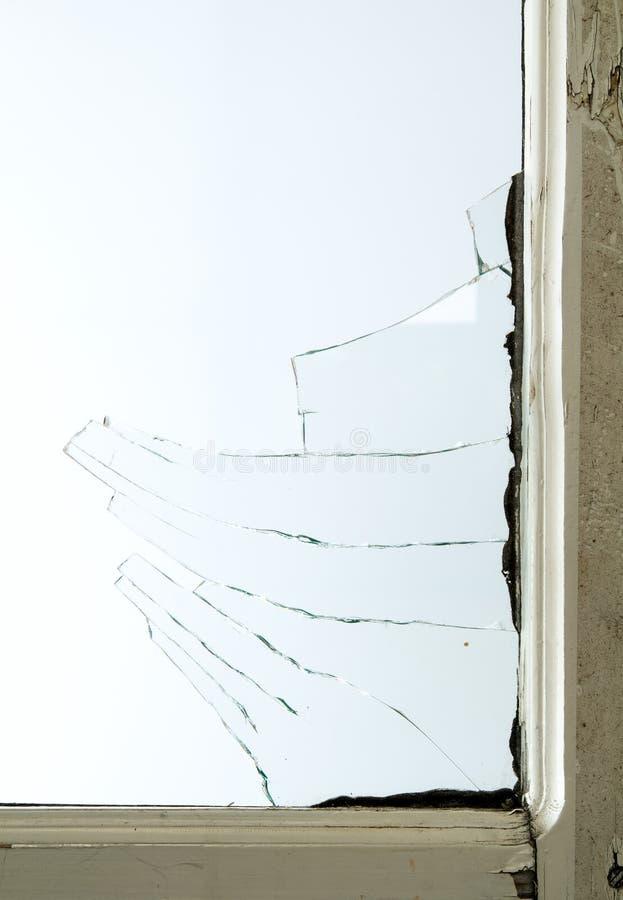Broken window glass stock photo. Image of danger, design - 104794800