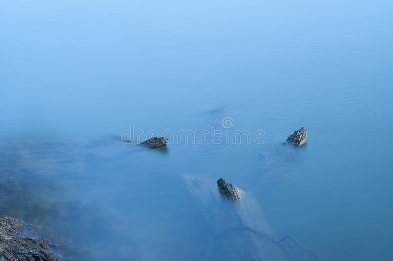 The broken wooden ship royalty free stock photography