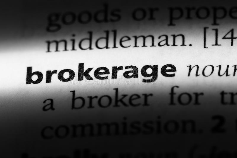 brokerage fotografia de stock