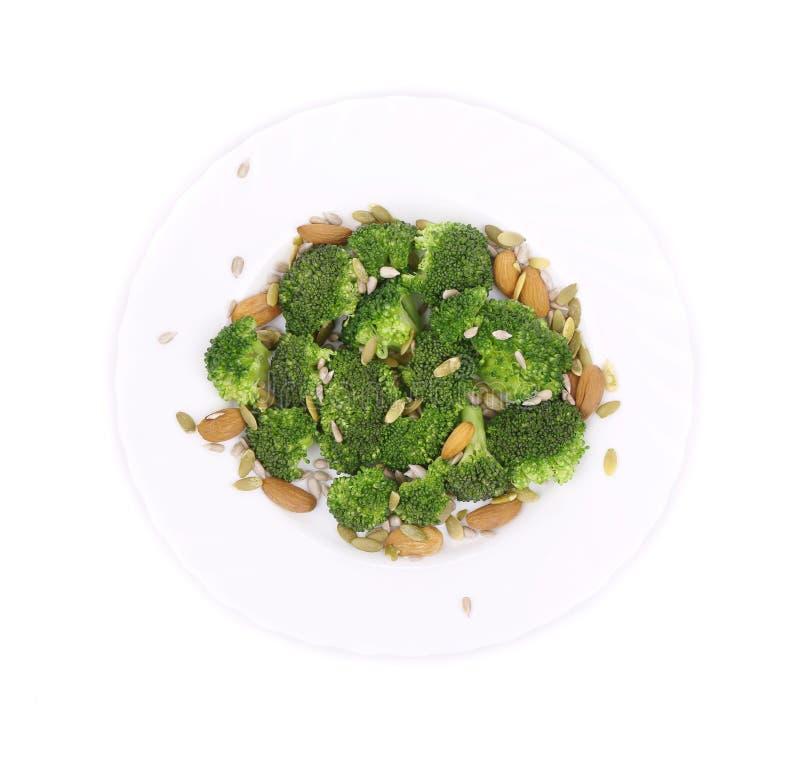 Brokkoli-Salat 2 lizenzfreie stockfotografie