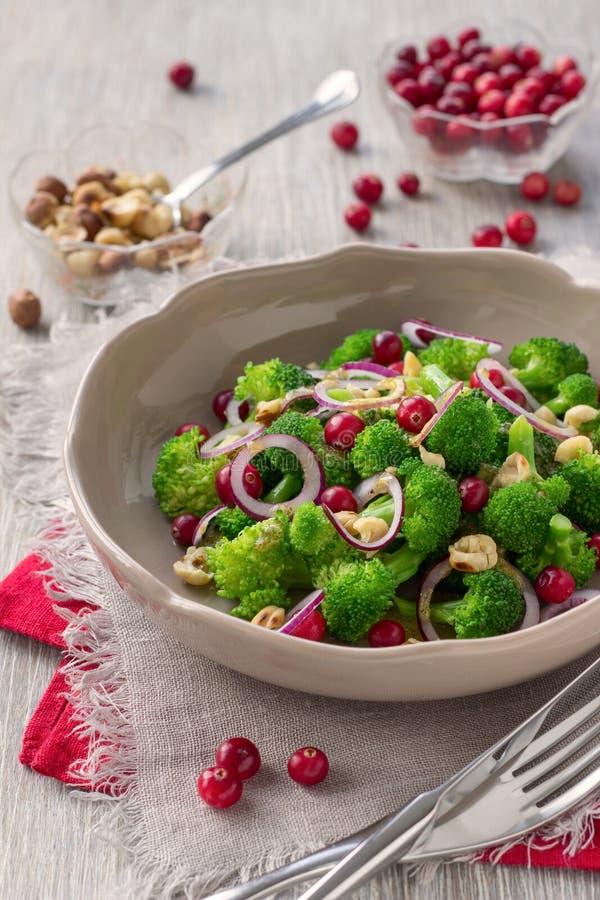 Brokkoli-Salat 2 stockfoto