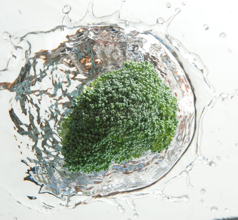 Brokkolispritzen stockfotos