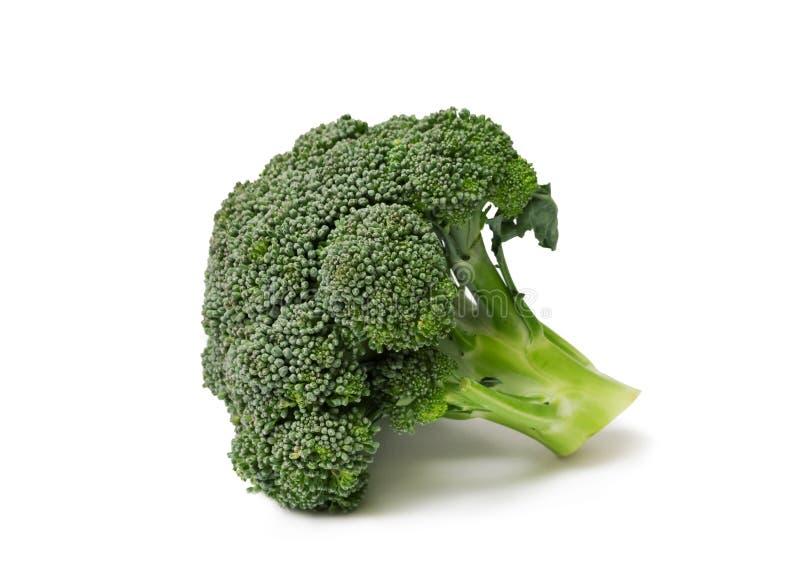 brokuły odizolowywający zdjęcie royalty free