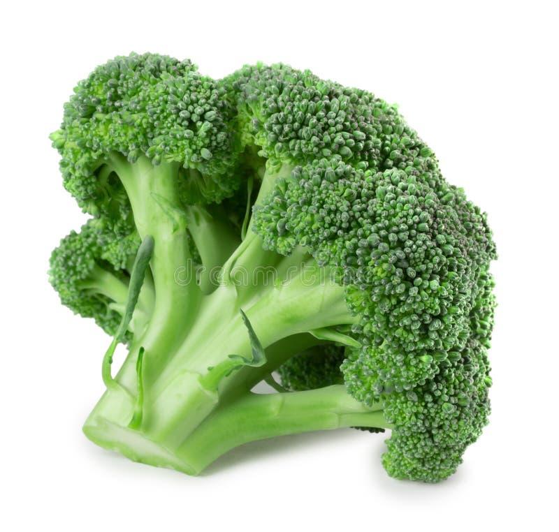 Brokuły odizolowywający na białym tle zdjęcia royalty free