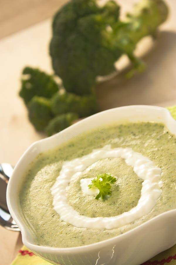 brokuły zupni zdjęcie royalty free