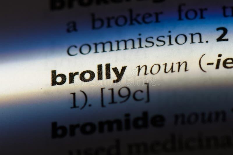 brolly fotografia stock