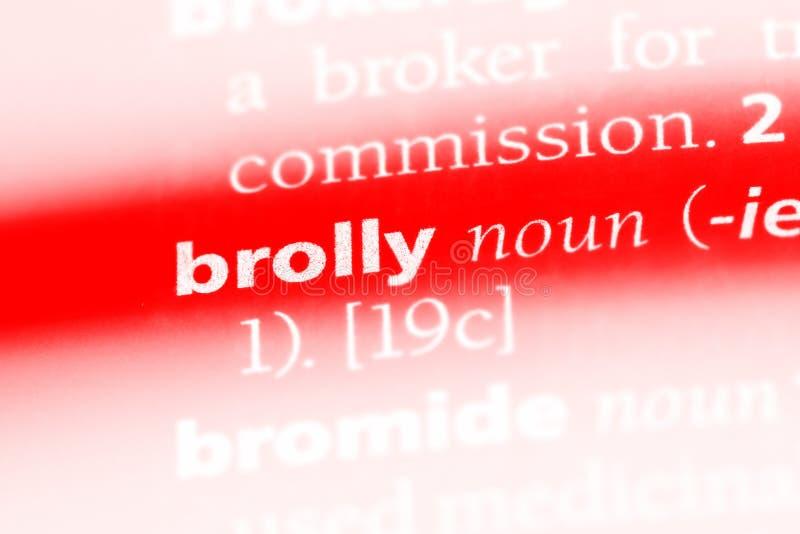 brolly zdjęcie stock