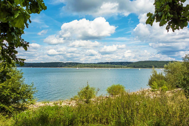 Brombachsee fotografia royalty free