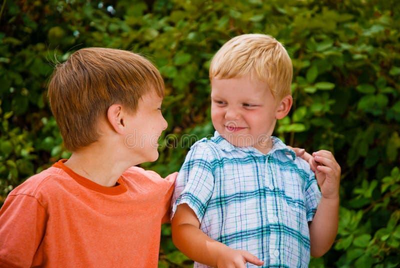 Brombeere-Jungen stockfoto